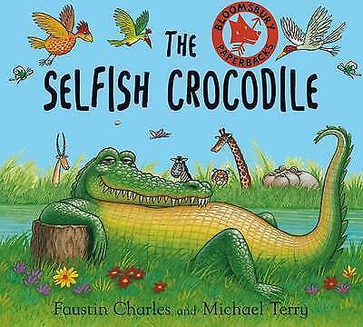 The Selfish Crocodile BRAND NEW BOOK by Faustin Charles (Paperback, 1998)