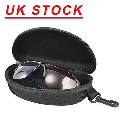 UK Sunglasses Reading Glasses Carry Case Bag Hard Zipper Box Travel Pack Pouch