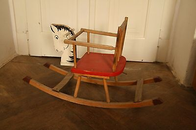 Vintage Rocking Horse Chair