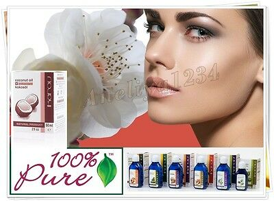 IKAROV 100%  Pure Natural Oil Argan, Coconut, Almond, Avocado, Macadam