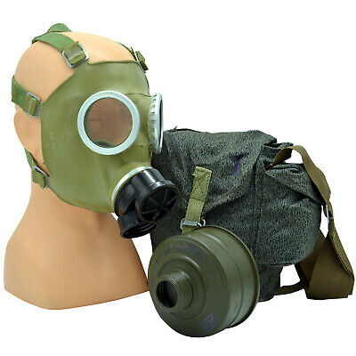 NEW Gas Mask MC-1 Filter Bag Military Polish Army FULL SET Fallout Stalker