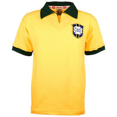 TOFFS Brazil 1958 World Cup Retro Football Shirt