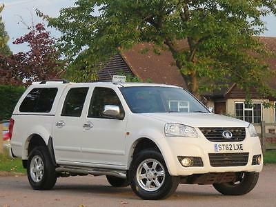2013 Great Wall Steed 2.0 TD SE 4dr