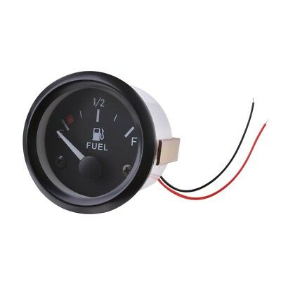 "2"" 52mm Universal Car Fuel Level Gauge Oil Meter Sender Sensor Pointer BI511"