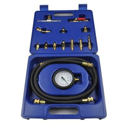 Engine Fuel System Tester EFI Flow Meter Pressure Analyzer Oil Route Blooey
