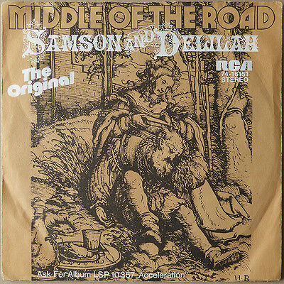 Middle Of The Road - Samsom And Delilah - NO VINYL - ONLY COVER