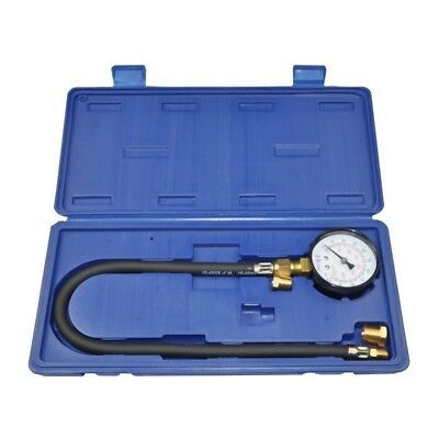 Auto Engine Oil Pressure Tester Set Gauge Diagnostic Test Kit With Adapter Hose
