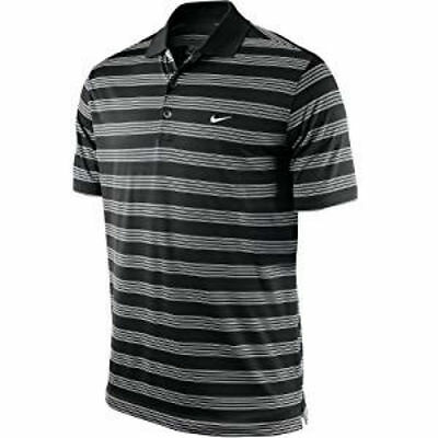 Rrp £30 Nike Golf Tour Performance Polo Shirt Black/white Mens Size Xxl Only