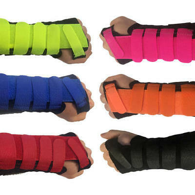 New Solace Bracing Cool-Flow Stomatex Boxing MMA Support Velcro Wrist Brace