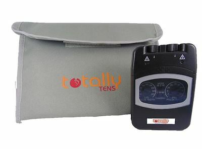 Totally Tens Dual Channel Analogue TENS Machine with Various Accessories