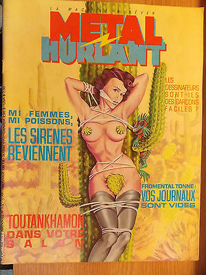 Metal Hurlant / N° 102 / Les Sirenes Reviennent / Tramber / Fromental / Zill