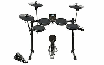 """Alesis DM6 Nitro Kit   Eight-Piece Compact Beginner Electronic Drum Set with 8"""""""
