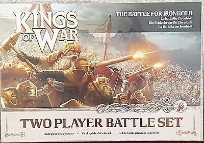 Kings of War Two Player Battle Set. 28mm Fantasy Miniatures