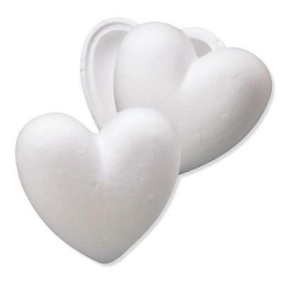 Knorr Prandell Polystyrene Hollow Heart 2-Part - 15cm