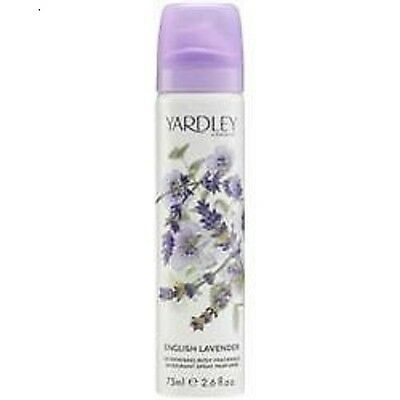 YARDLEY LONDON PERFUMED BODY SPRAY 75ML x1 (DIFF SCENTS TO CHOOSE FROM)