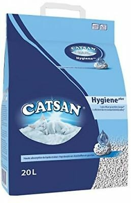 Catsan Hygiene Cat Litter, 20 L - Cat/kitten Litter - UK SELLER