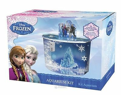 Bnib Disney Frozen Aquarium Kit 17Ltrs With Lid,ce Filter, Colourful Background