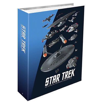 Star Trek Limited Edition Federation Starships Collection Binder by Eaglemoss