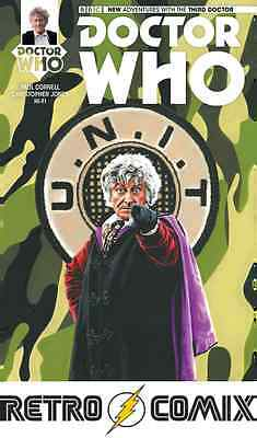 Titan Comics Doctor Who 3Rd #1 Diamond Uk Variant New/unread Bagged & Boarded