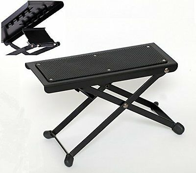TENOR TFRM Professional Metal Guitar Foot Rest, Sturdy Guitar Foot Stool, Guitar