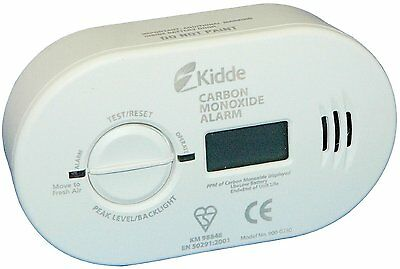 Kidde 5Dco Nhdco Carbon Monoxide Digital Alarm Detector 7 Year Warranty Battery