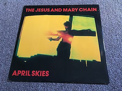 "Jesus And Mary Chain - April Skies - 1987 12"" Single Ex/ex Buy More Combine Post"