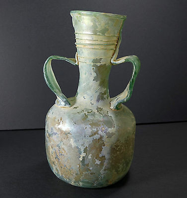 *Aphrodite Gallery* GIANT ROMAN TWIN HANDLED FLASK, ca. 4th-3rd Century A.D.
