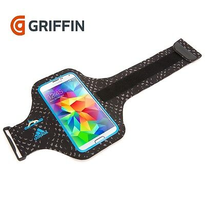 New Genuine Griffin Armband Case For Samsung Galaxy S5/s6 In Black/blue