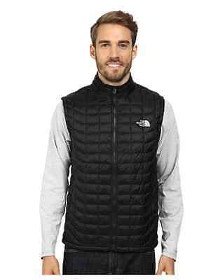 The North Face Thermoball Black Puffer Quilted Primaloft Jacket Vest Diff Sizes