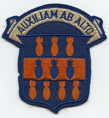 WWII USAAF 334th Bomb Group, 3rd Air Force Patch
