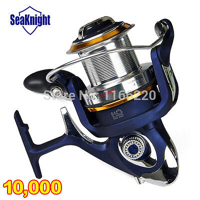 New 8000-12000Series Big Game Sea Spinning Fishing Reel Metal 9+1BB Fish Wheel