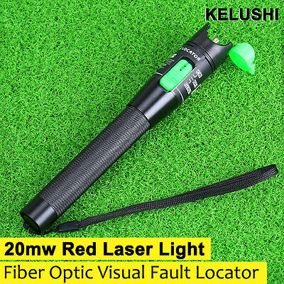 Hot 20mW 20km Visual Fault Locator Fiber Optic Cable Tester Meter for SC/FC/ST
