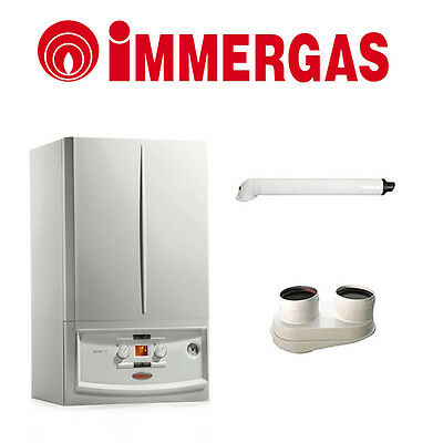 Boiler A Condensation Immergas Victrix Exa 28 Kw Erp 2016 Featuring Kit