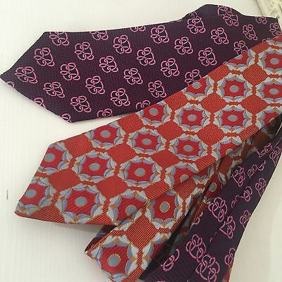 Cool Retro Vintage Mens Tie 70's High Quality Funky