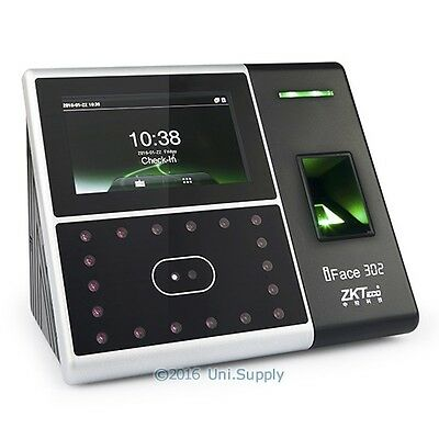 ZKTeco Facial And Fingerprint Time Clock + Access Control TCP/IP+Dual Camera