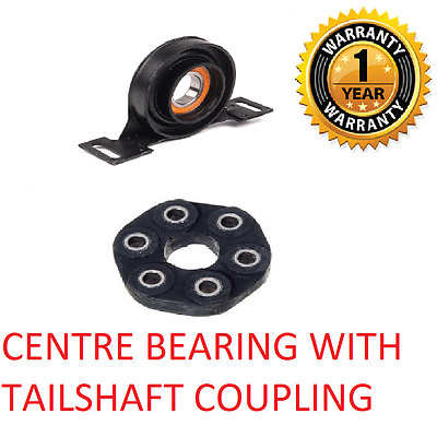 Tailshaft Centre Bearing and coupling FIT BMW E36 E46 E39 E34 26111227410  NEW