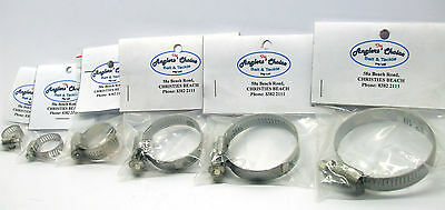 Worm Drive Hose Clamps BRAND NEW