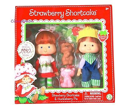 Strawberry Shortcake Huckleberry Pie Dolls & Pets Custard 1980 Reproduction NEW