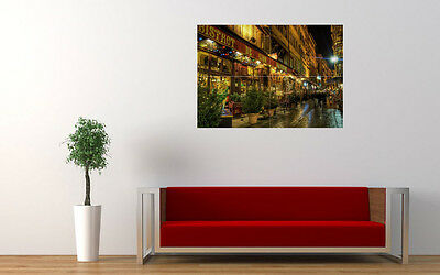 "LYON STREETS NEW GIANT LARGE ART PRINT POSTER PICTURE WALL 33.1""x23.4"""
