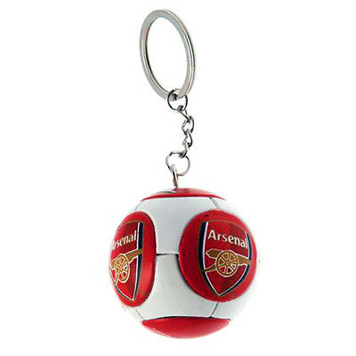 Official Arsenal Fc Club Crest Ball Type Keyring Key Ring Keychain New Gift Xmas