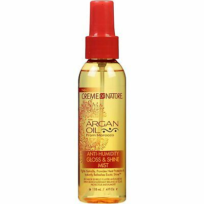 Cream of Nature Argan Oil Anti-Humidity Gloss and Shine Mist 4oz
