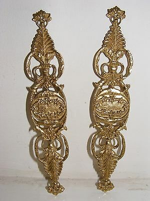 Pair of Brass Furniture Adornments