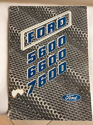 Ford tractor book 5600 6600 7600