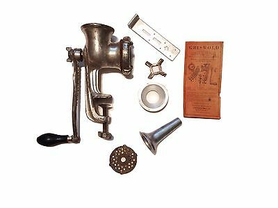 Antique Griswold Original Combination Meat and Food Chopper