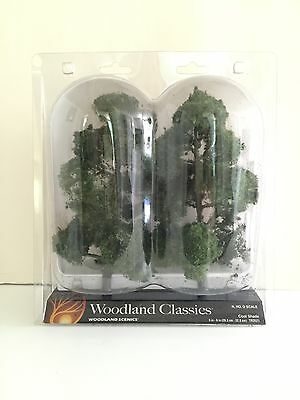 "TR3521 Cool Shade Trees 8""- 9"" (2) WOOU3521 DESIGN PRESERVATION MODELS"