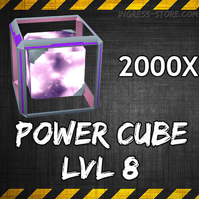 Ingress L-8 Power Cubes x 2000 (NIA how to get guide)
