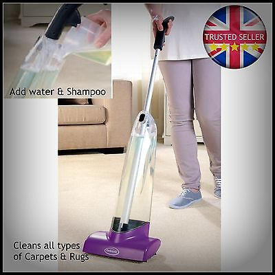 Ewbank Carpet Shampooer Clean carpets and rugs, removes ingrained Dirt no effort