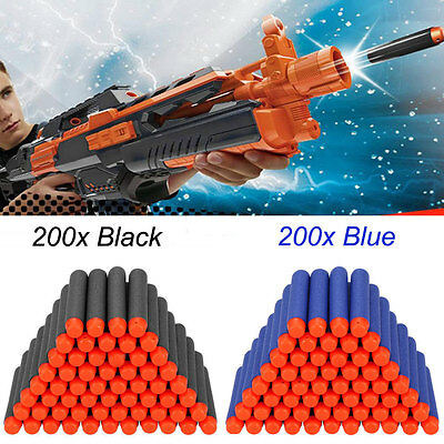 400pcs Refill Foam Bullet Darts for Nerf N-strike Elite Series Blasters Toy Gun