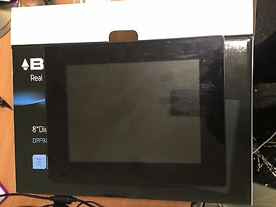Bush PF-868 8 inch Widescreen TFT Black Digital Photo Frame Display for Parts