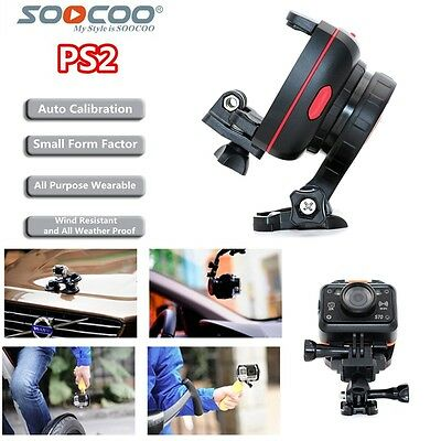 SOOCOO PS2 Adjustable 1 Axis GoPro Video Camera Mount Gyro Gimbal Stabilizer